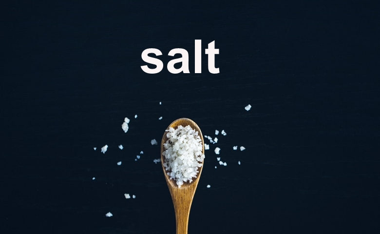 a spoonful of salt